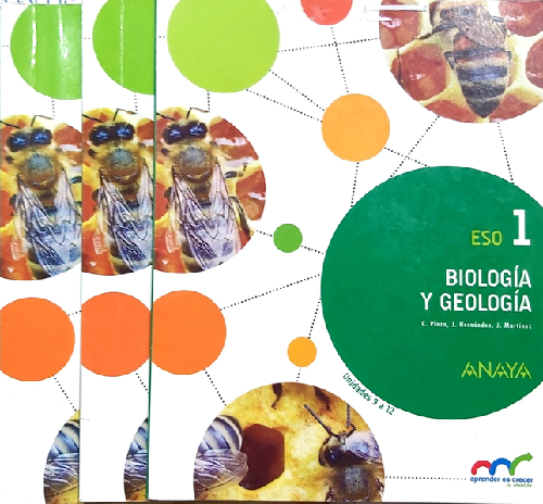 1º Eso Biología Y Geología Trimestral 9788467850765 Anaya 2015 D Opportunities World